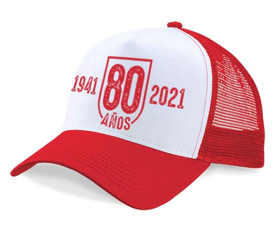 Gorra - 80 años 41/21