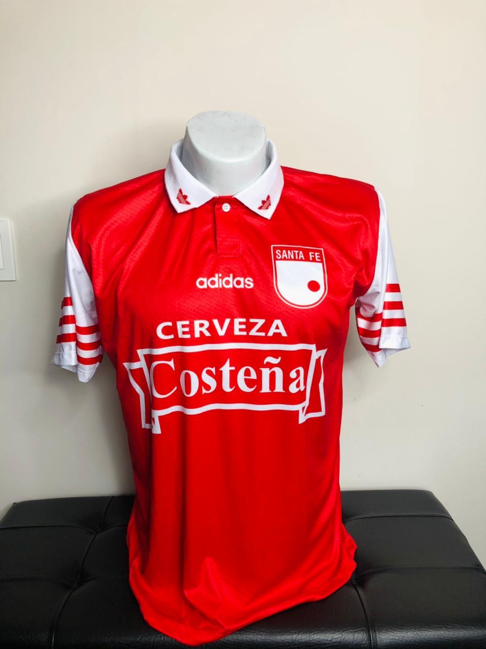 Retro Santa Fe - Roja Adidas