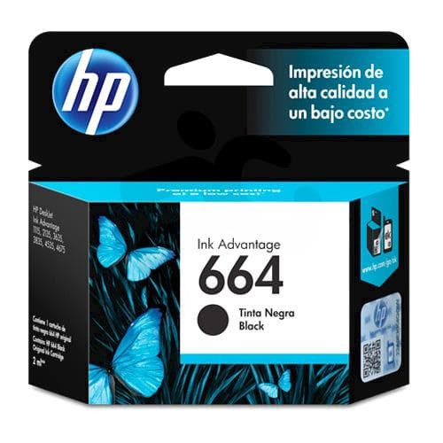 HP 664 BLACK | Tinta Original