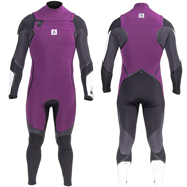 TRAJE SURF A3 ONE CHEST ZIP 4 3MM AGENT 18 17b10ae593c