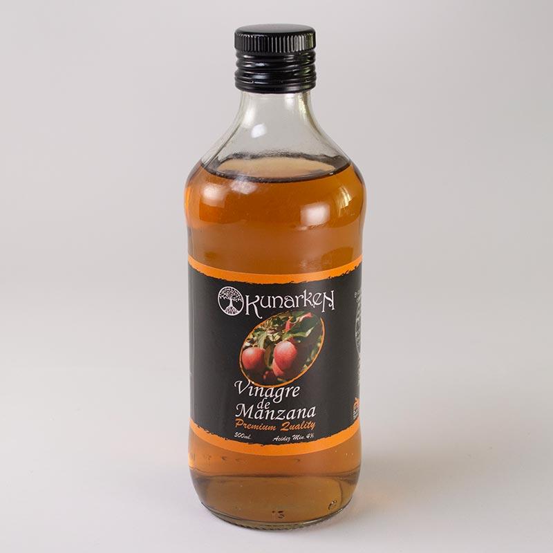 Vinagre de manzana Kunarken. 500 ml