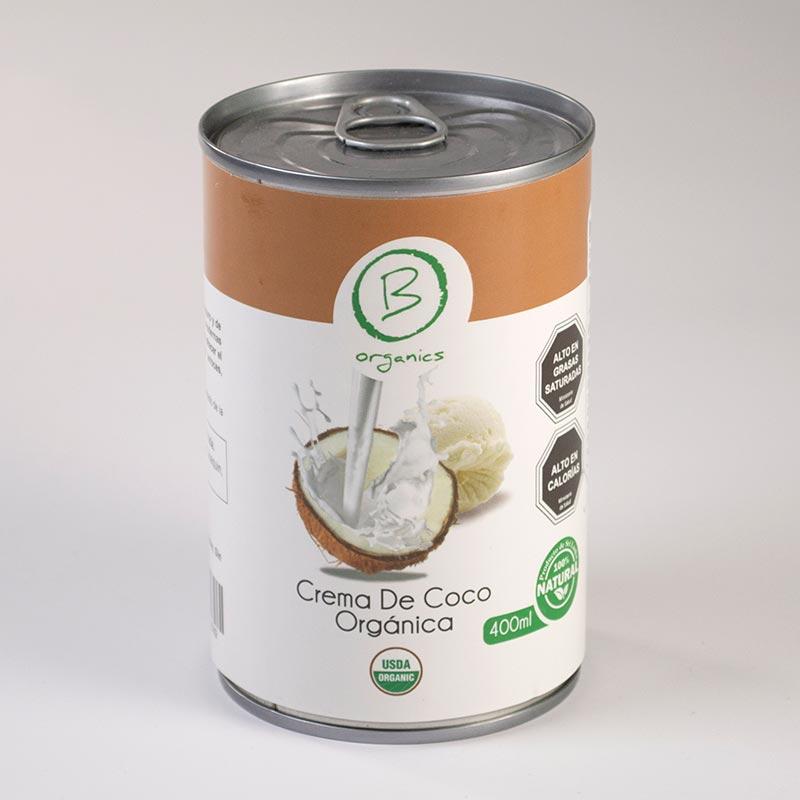 Crema de coco orgánica - 400 ml