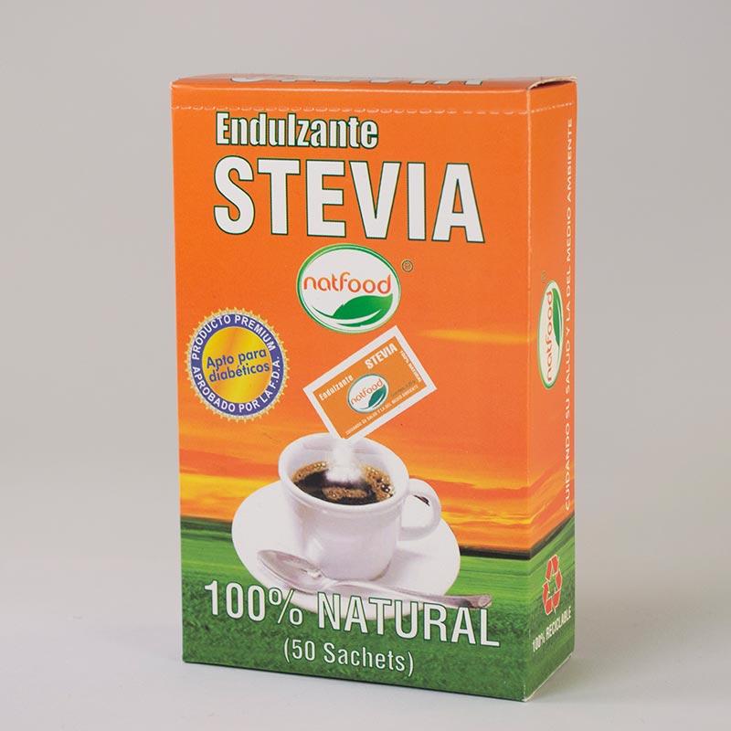 Stevia en sachets