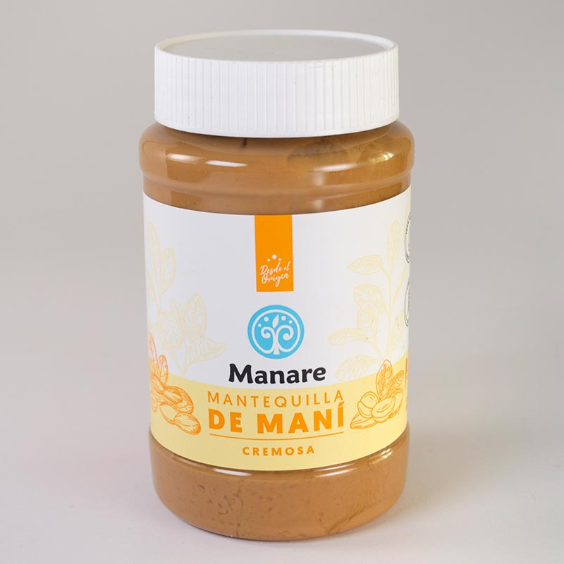 Mantequilla de maní Manare - 500 grs.