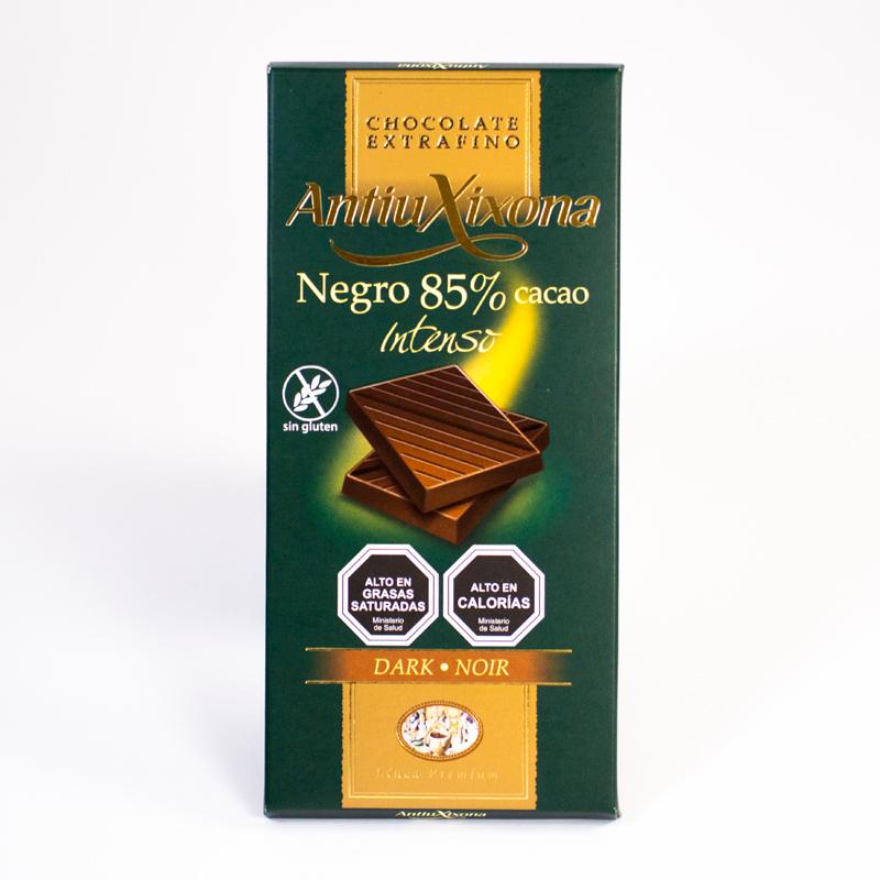 Chocolate Negro 85% de Cacao