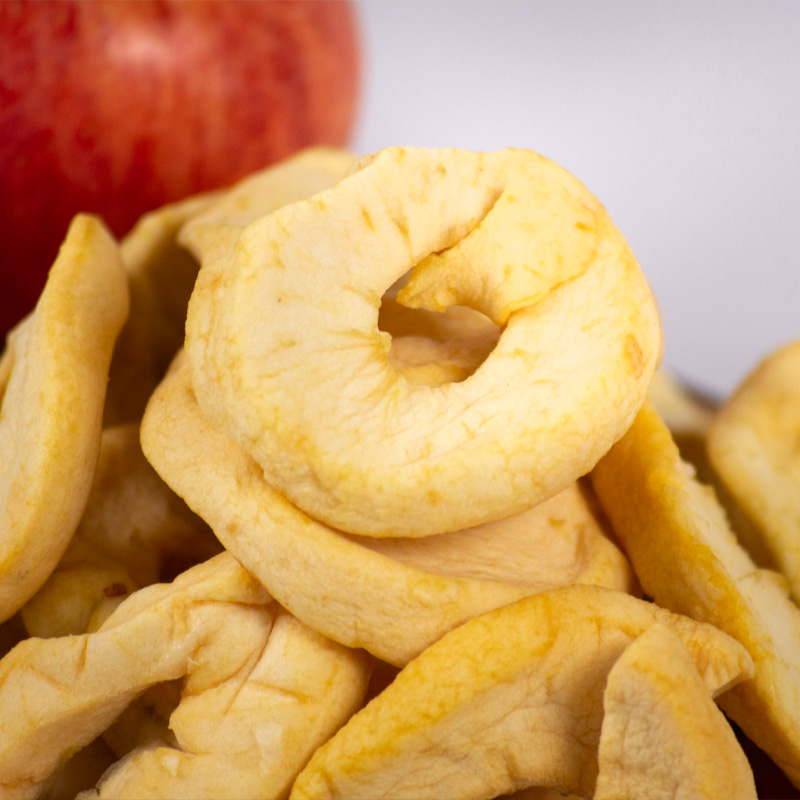 Manzana en lonjas