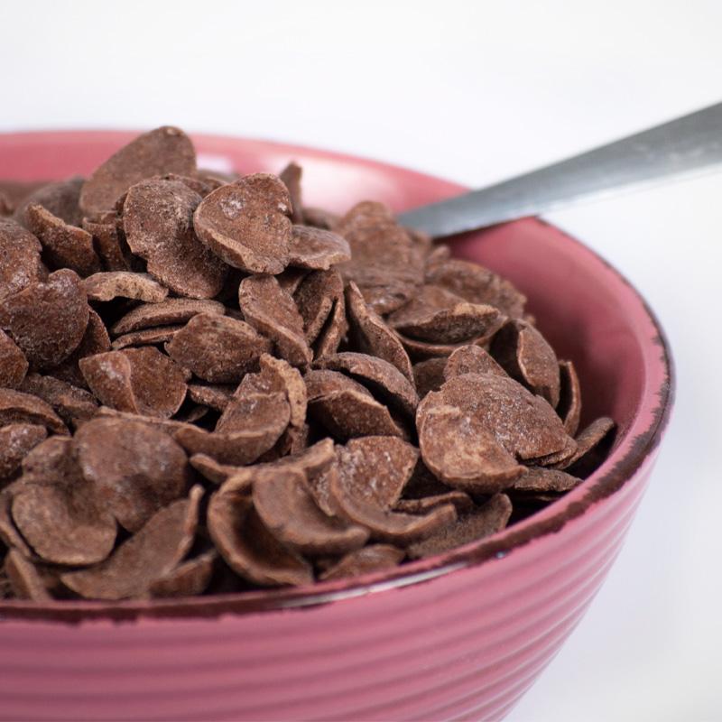 Hojuelas de chocolate