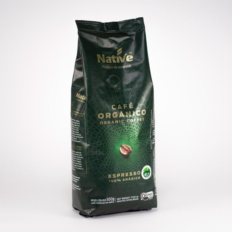 Café Orgánico. Grano. 500 grs.