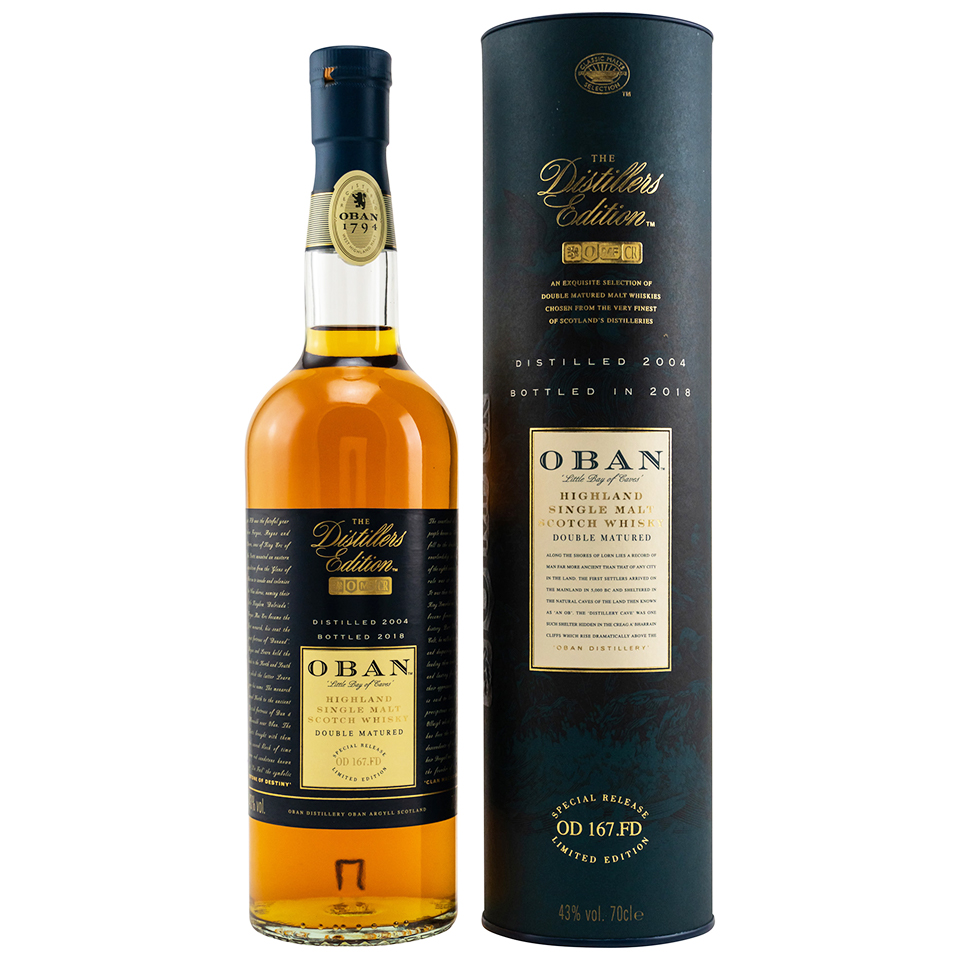 Oban Distillers Edition 2004-2018 (43%vol. 700ml)