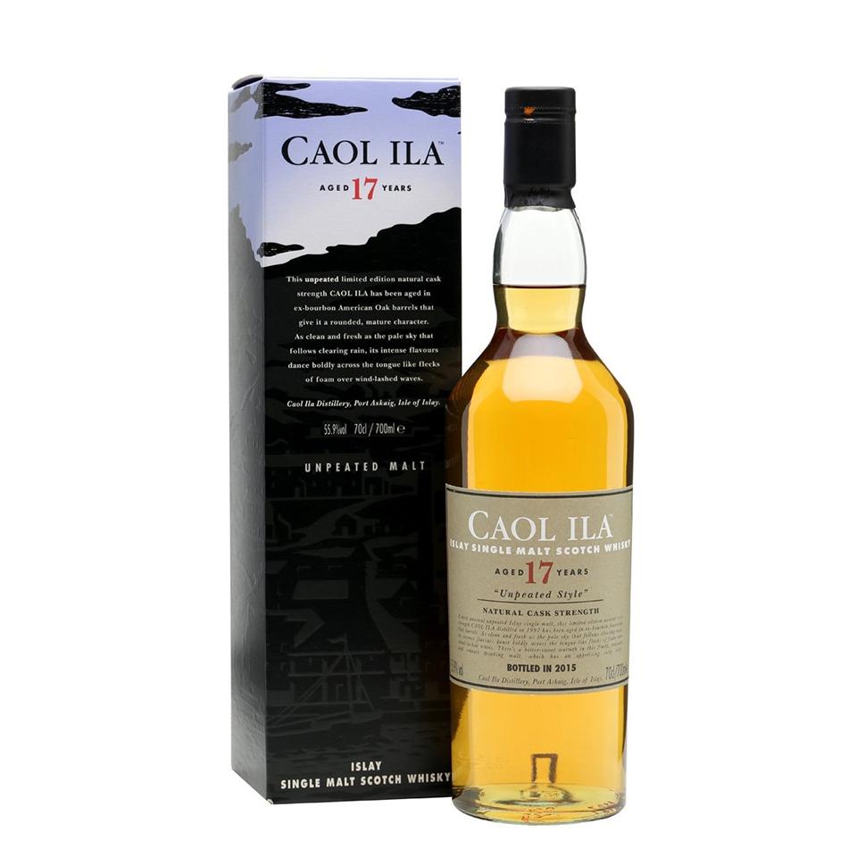 Caol Ila 17 Unpeated (55,9%vol. 700ml)
