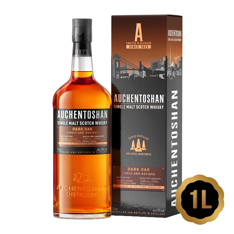 Auchentoshan Dark Oak (43%vol. 1L)