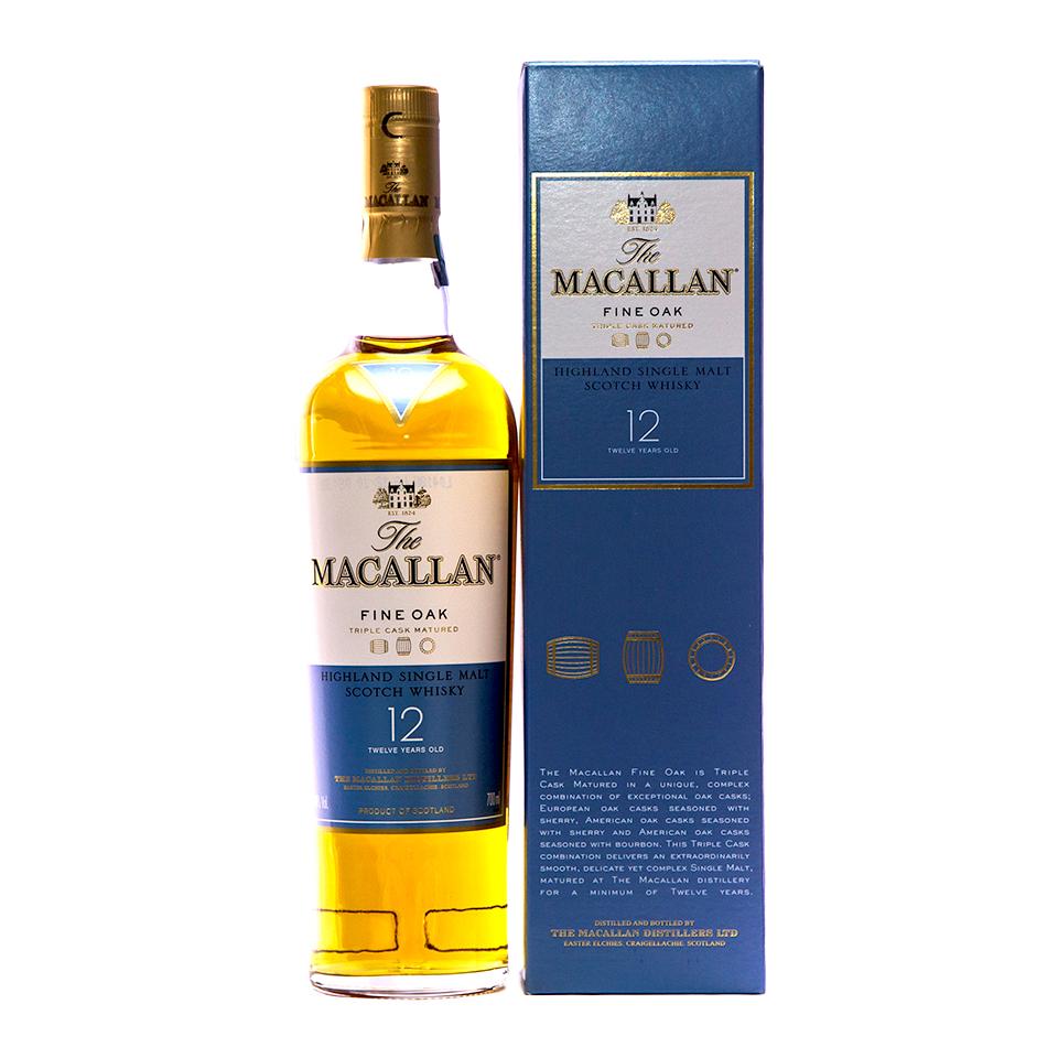 Macallan 12 Fine Oak (40%vol. 700ml)