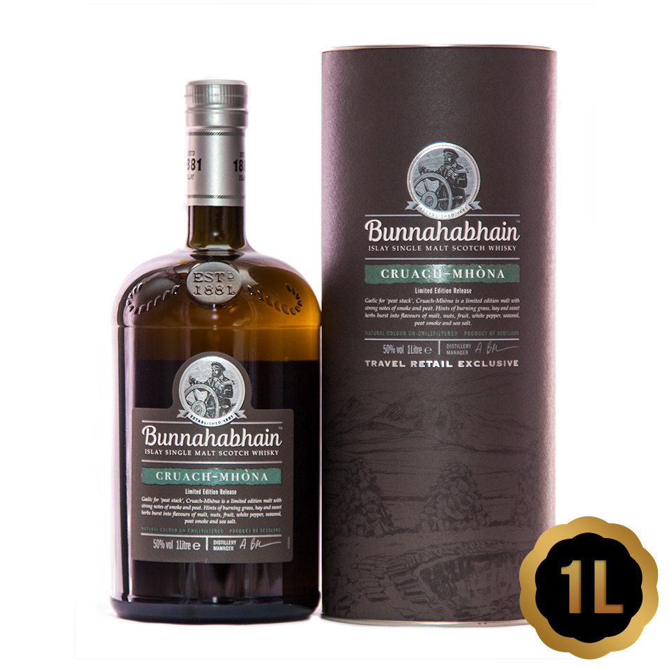 Bunnahabhain Cruach Mhona (50%vol. 1L)