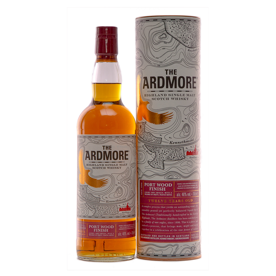 Ardmore 12 Portwood Finish (46%vol. 700ml)