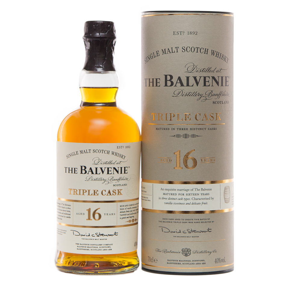 Balvenie 16 Triple Cask (40%vol, 700ml)