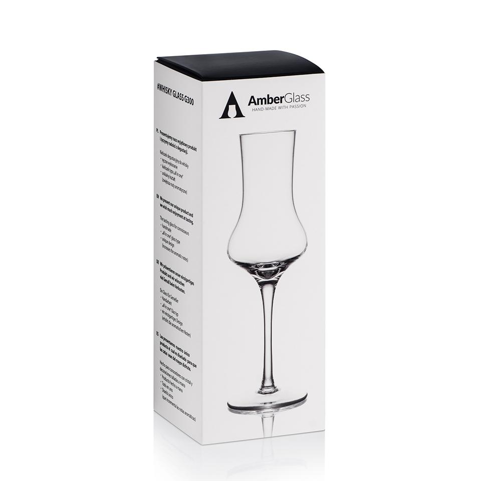 AmberGlass Copa para whisky u otros licores G300