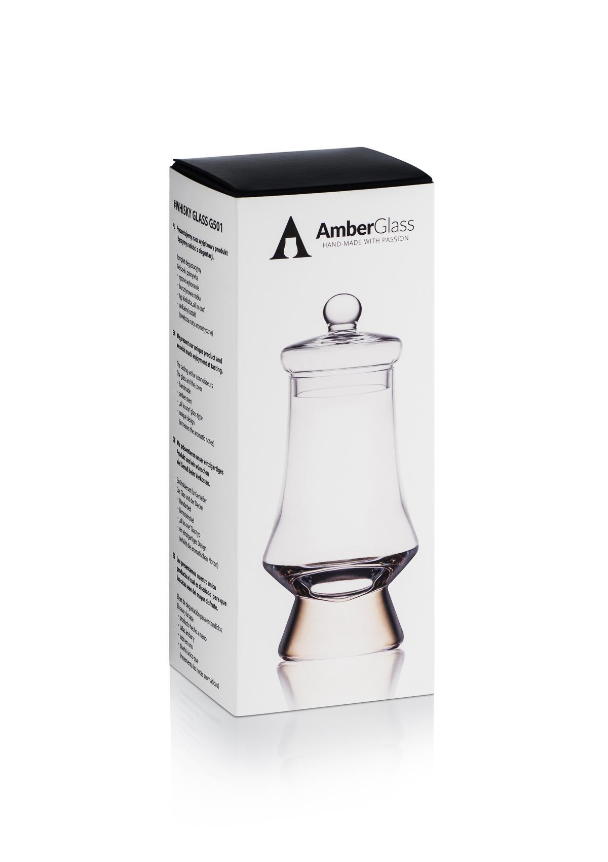 AmberGlass Copa para whisky G501