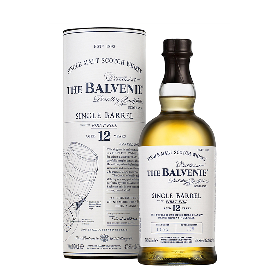 Balvenie 12 Single Barrel - First Fill (47,8%vol. 700ml)