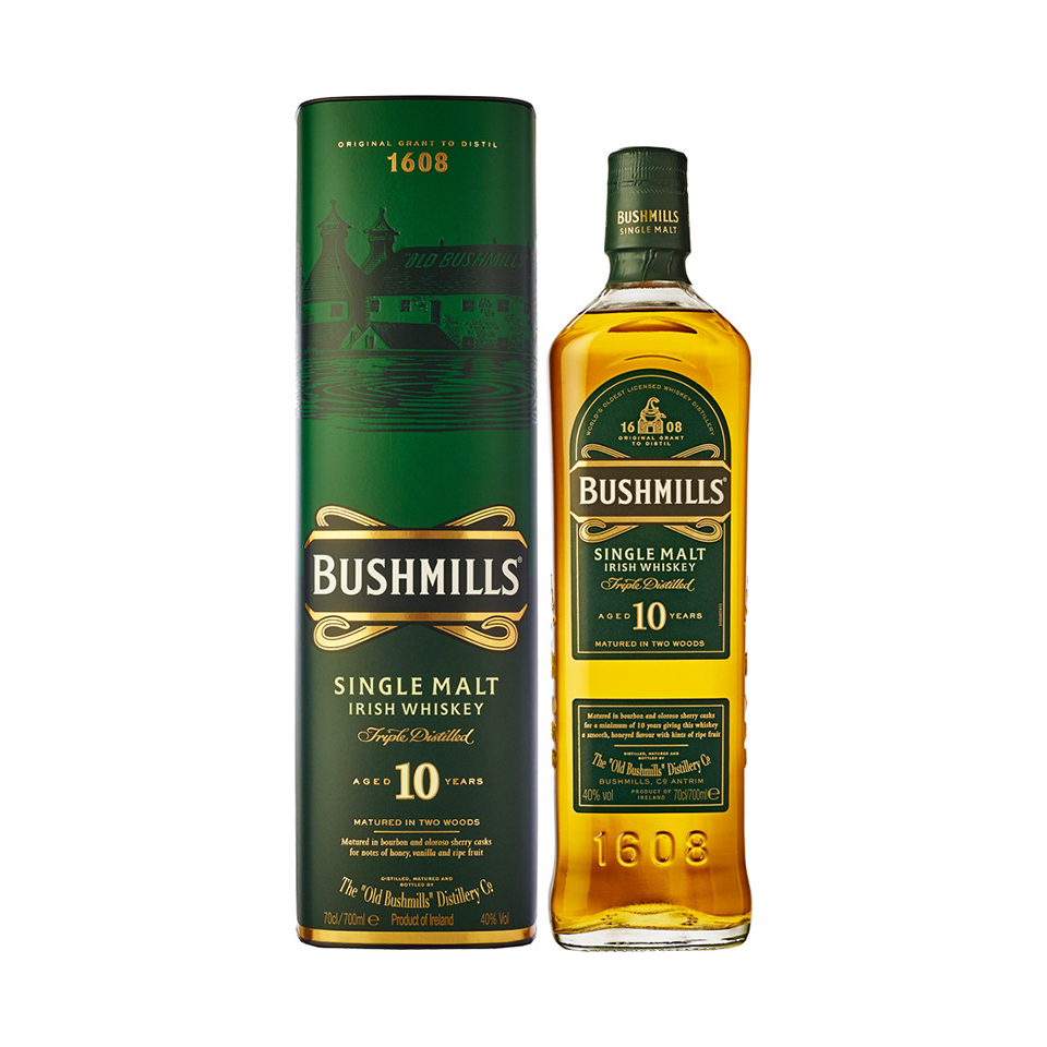 Bushmills 10 Single Malt (40%vol. 700ml)