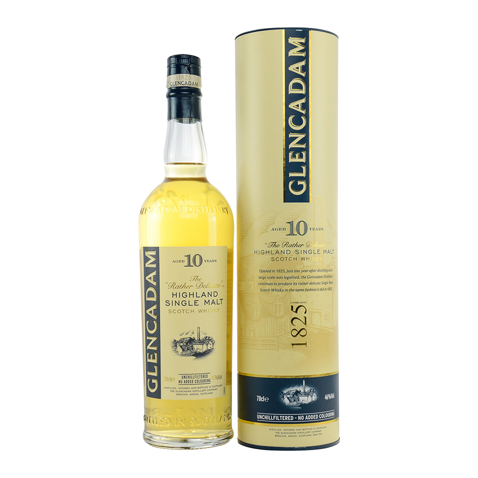 Glencadam 10 (46%vol. 700ml)