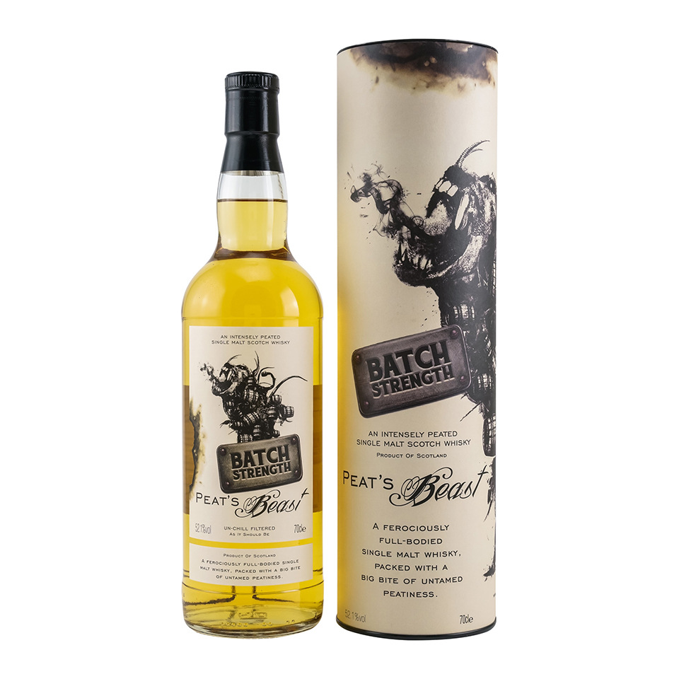 Peat's Beast Cask Strength (52,1%vol. 700ml)