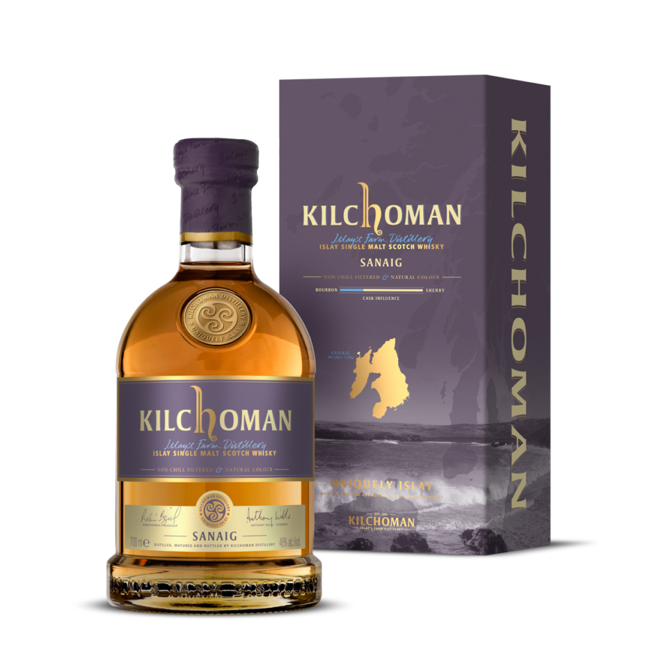 Kilchoman Sanaig (46%vol. 700ml)