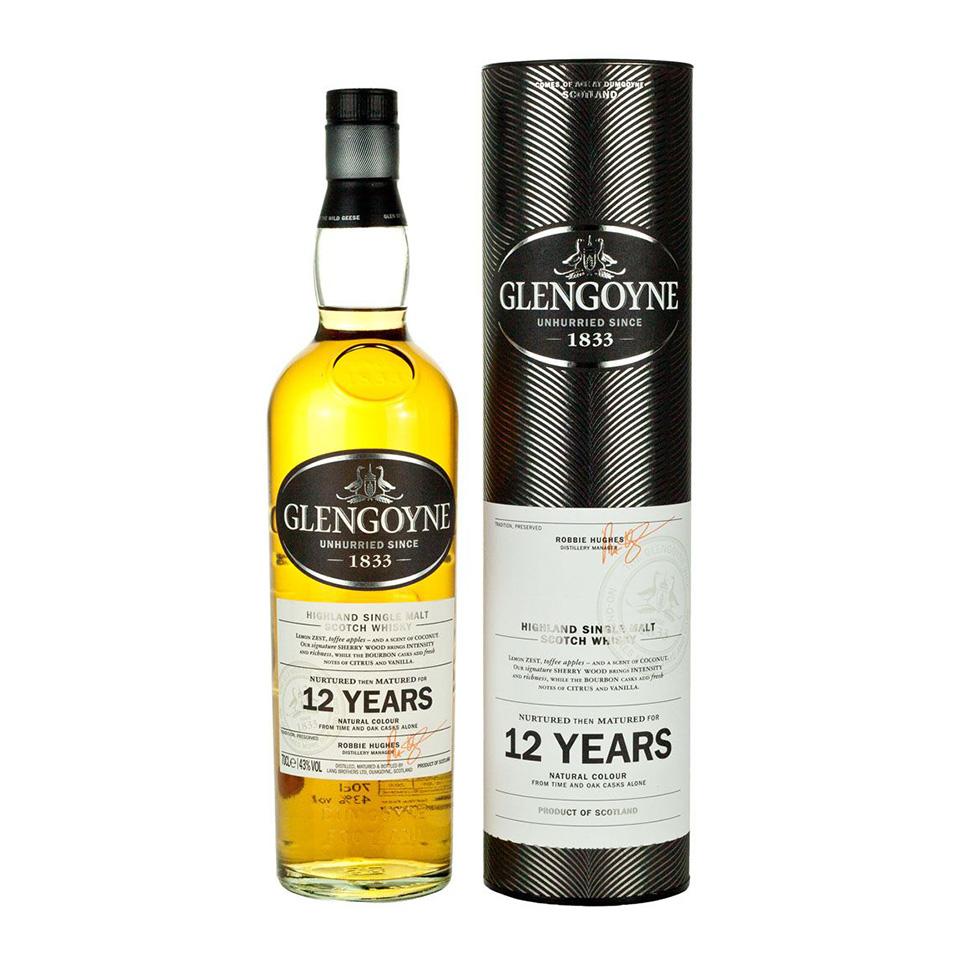 Glengoyne 12 (43%vol. 700ml)
