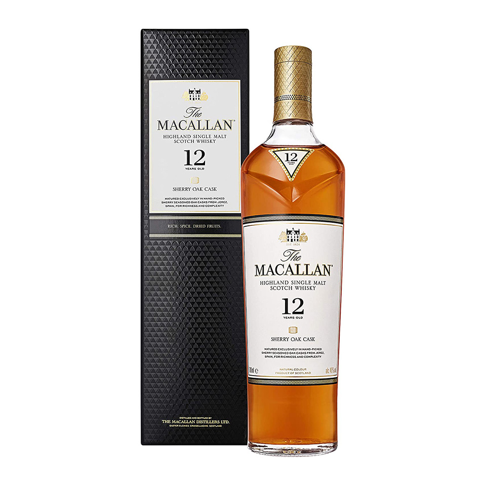 Macallan 12 Sherry Oak (40%vol. 700ml)