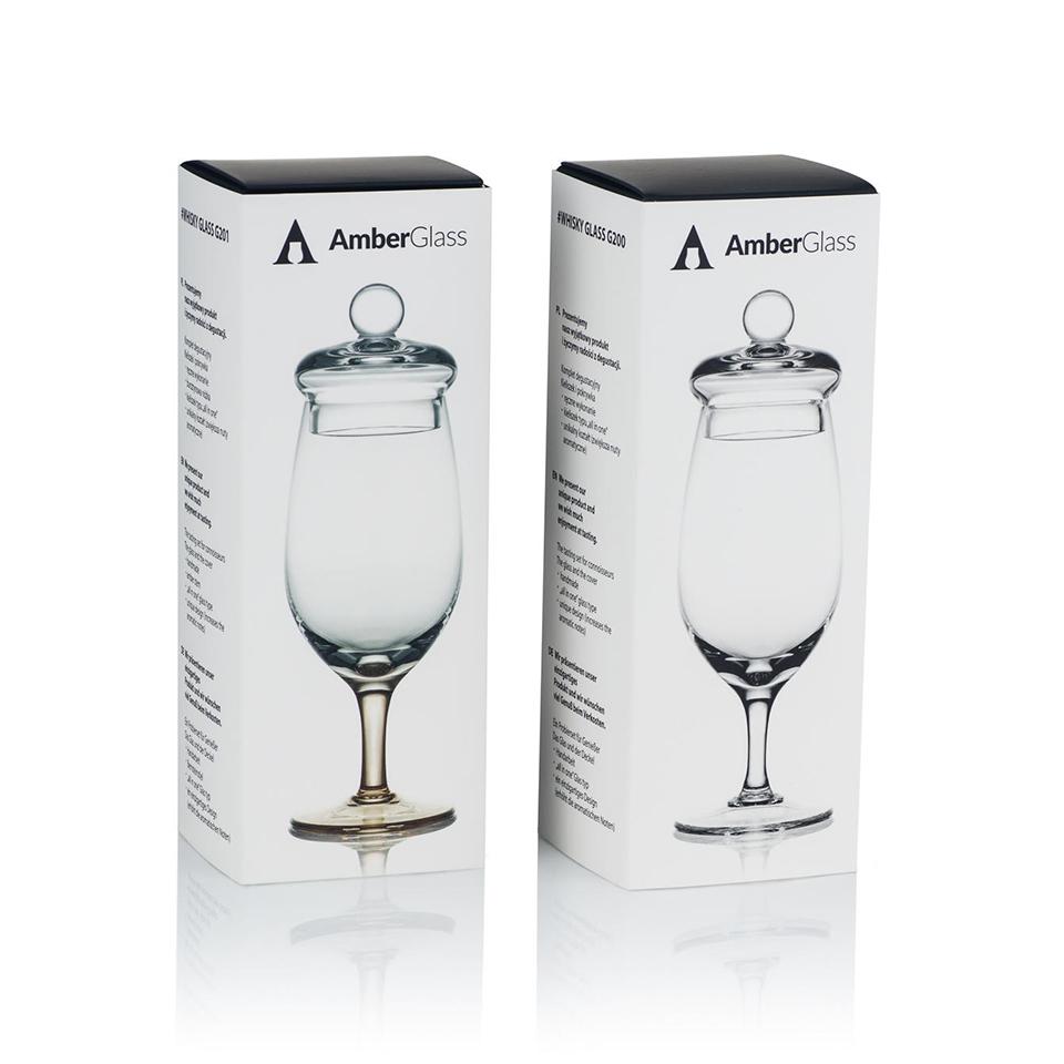 AmberGlass Copa para whisky G201
