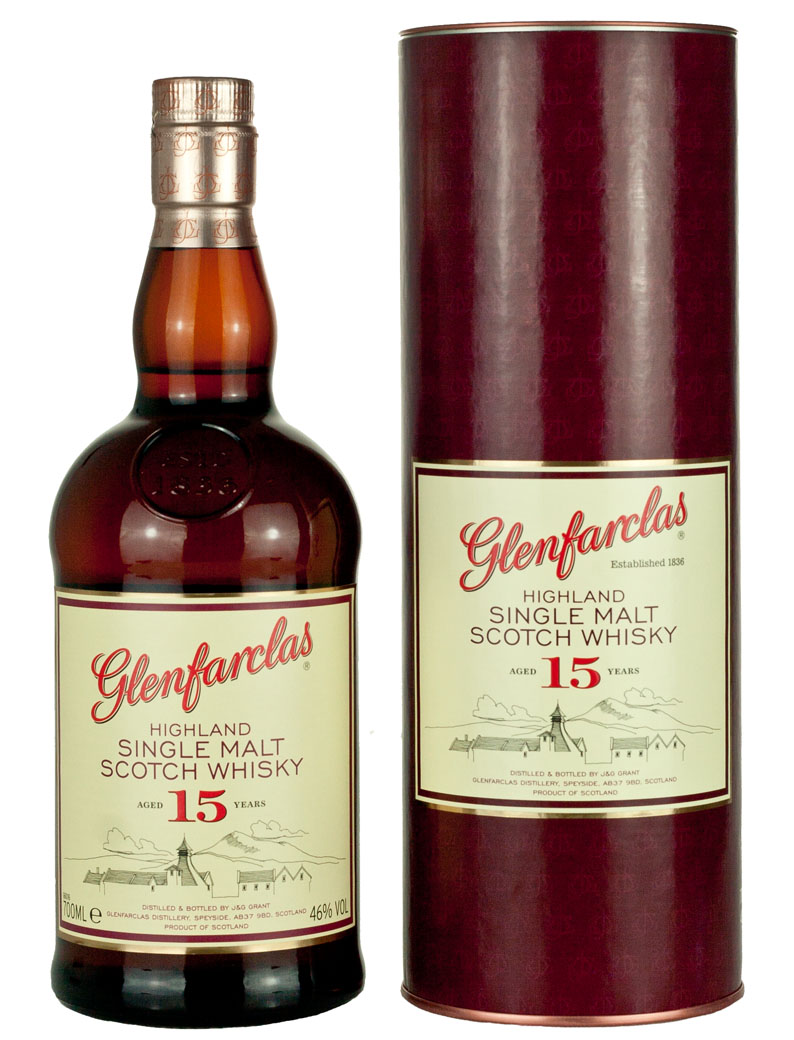 Glenfarclas 15 (46%vol. 700ml)