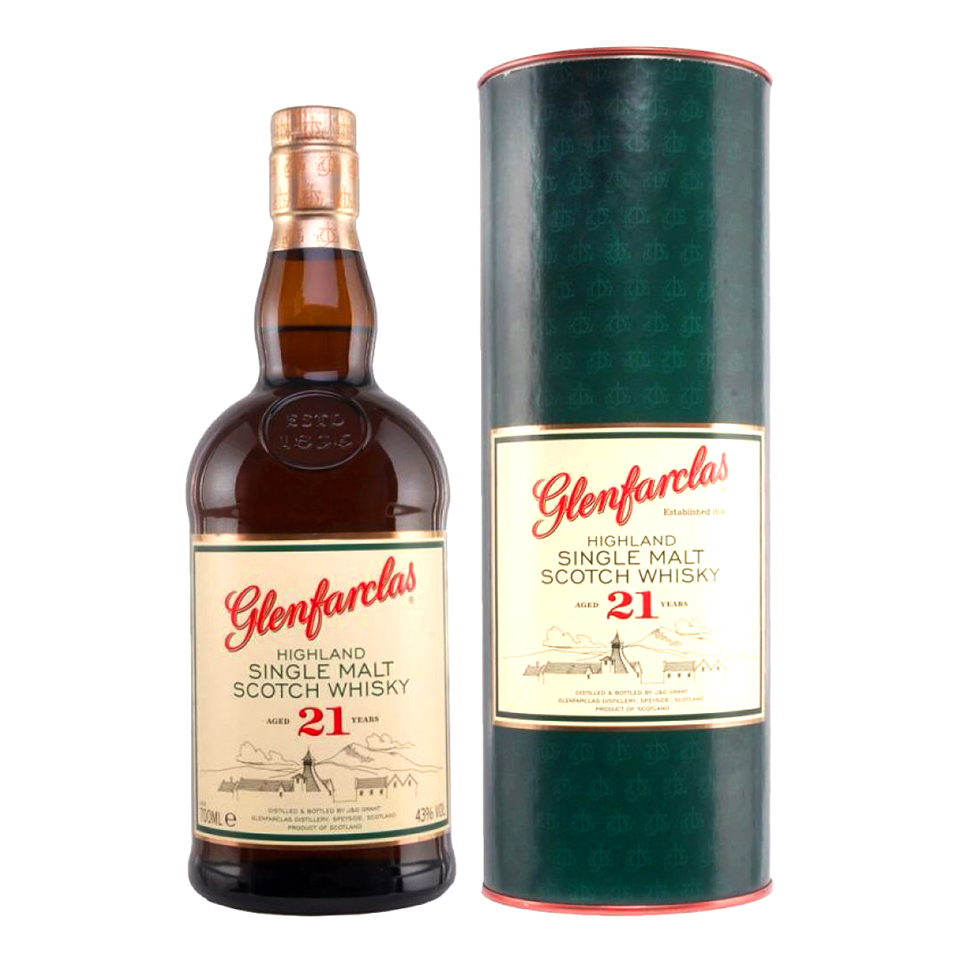 Glenfarclas 21 (43%vol. 700ml)