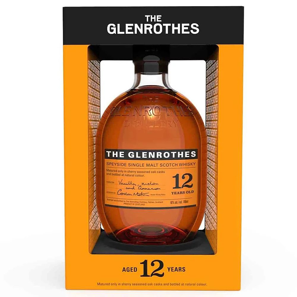 Glenrothes 12 (40%vol. 700ml)