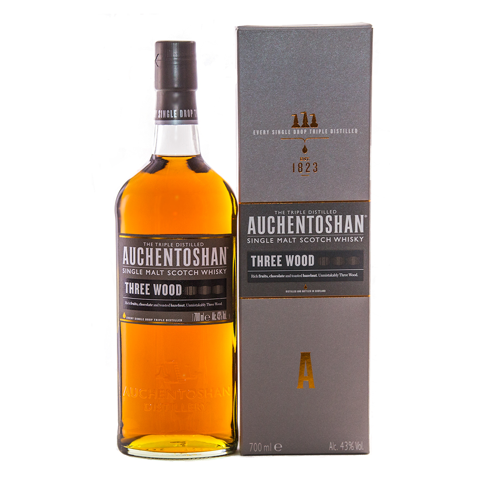 Auchentoshan Three Wood (43%vol. 700ml)