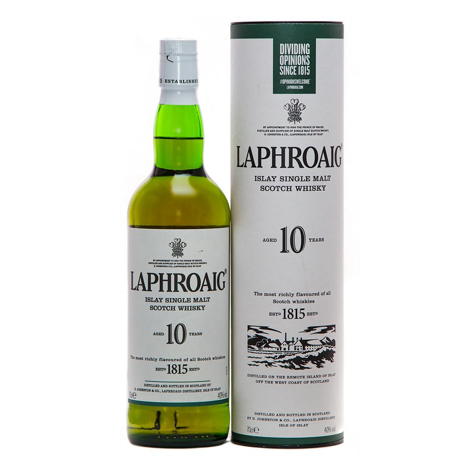 Laphroaig 10 (40%vol. 700ml)