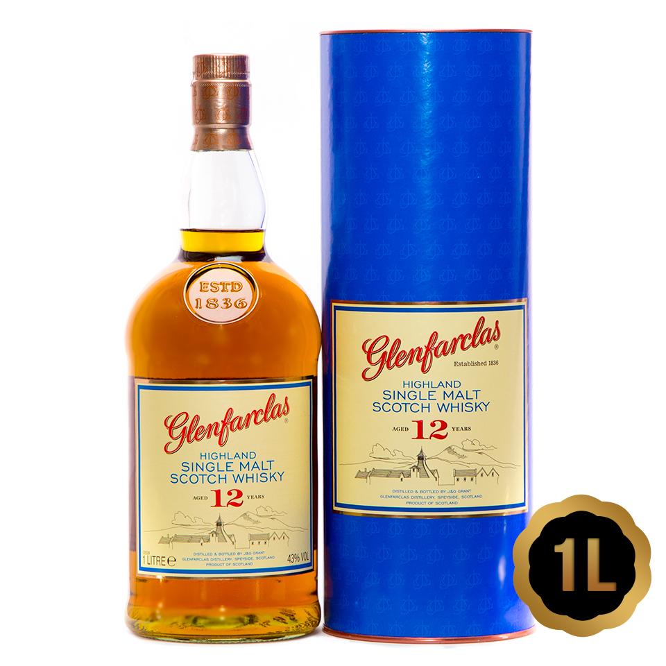 Glenfarclas 12 (43%vol. 1L)