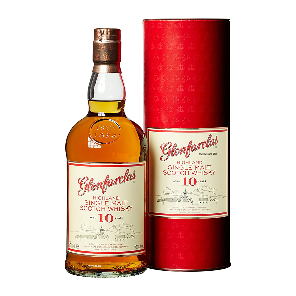 Glenfarclas 10 (40%vol. 700ml)