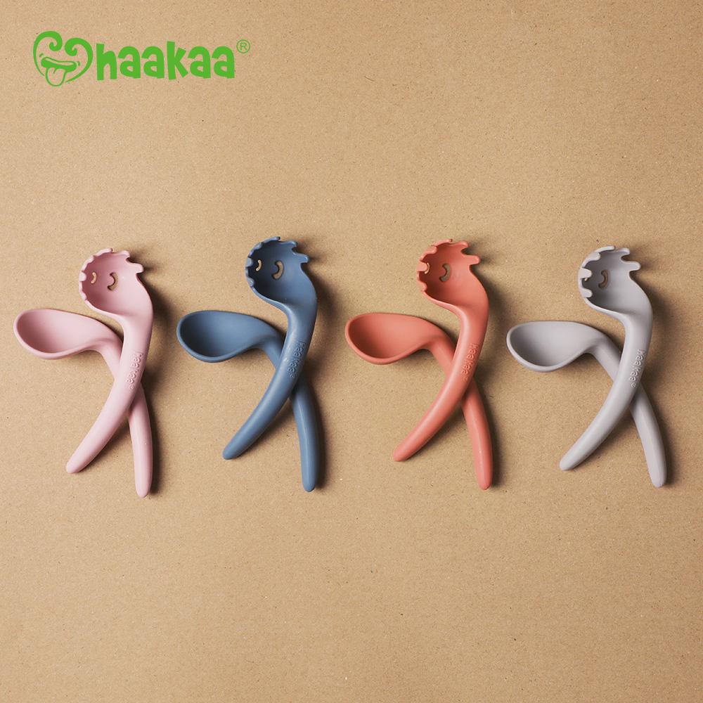 Set de cubiertos curvos Silicona