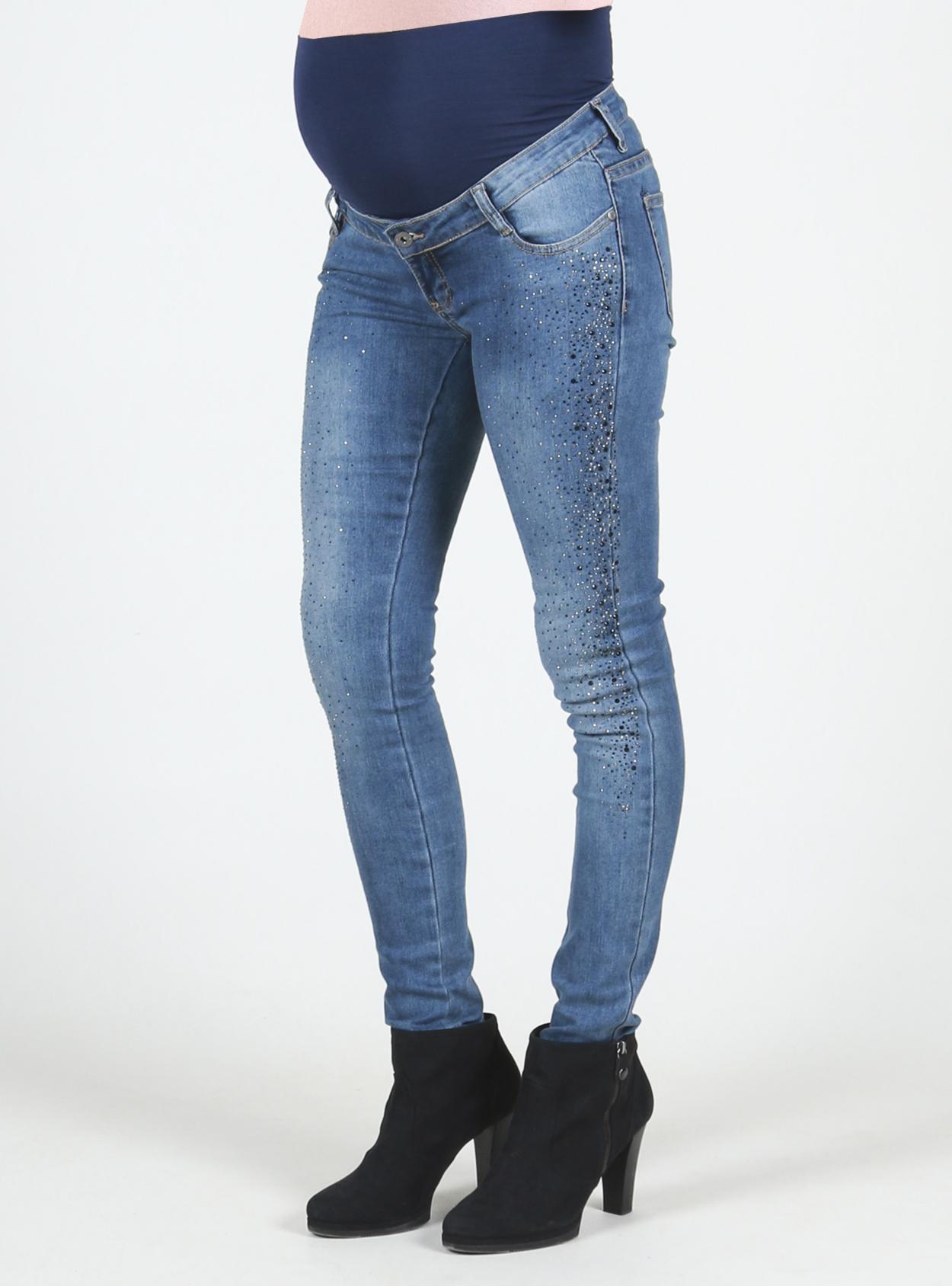 Jeans con pedrería