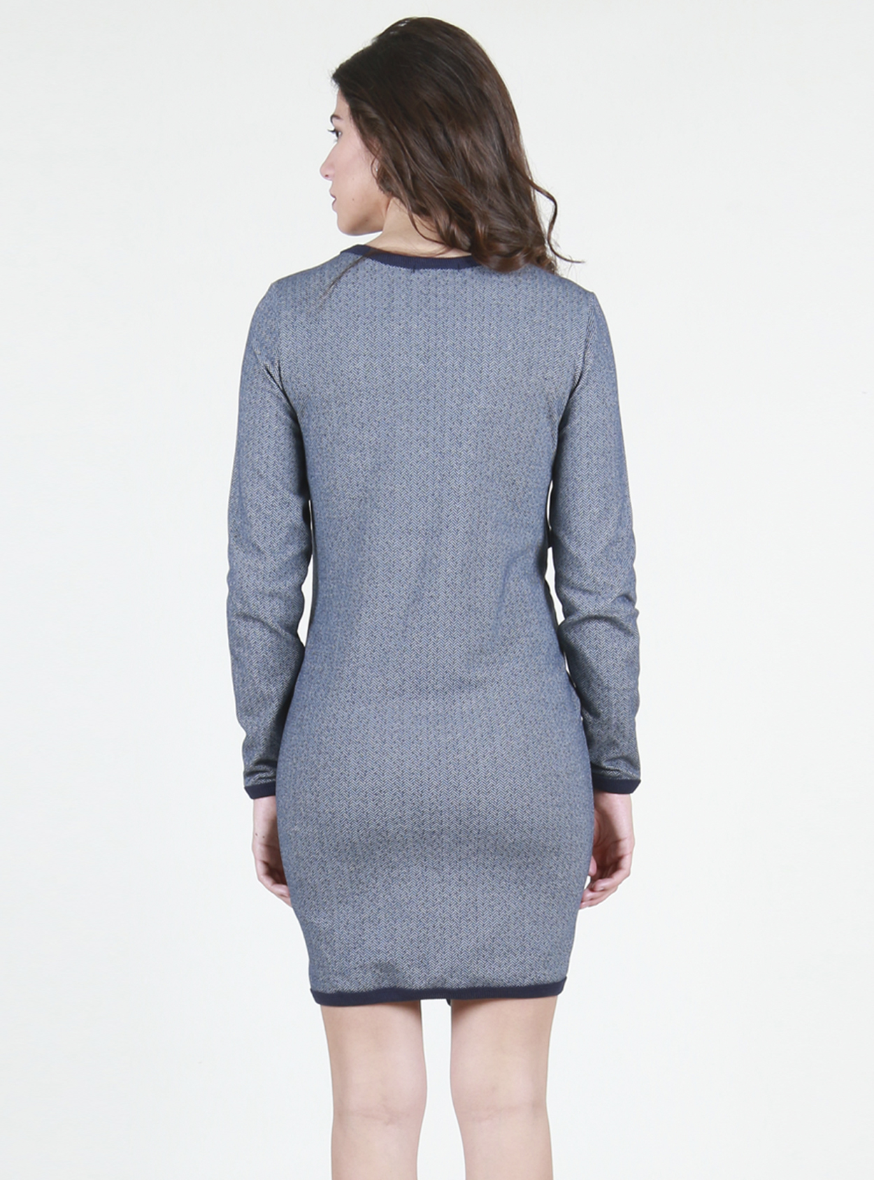 Vestido tejido de Espiga
