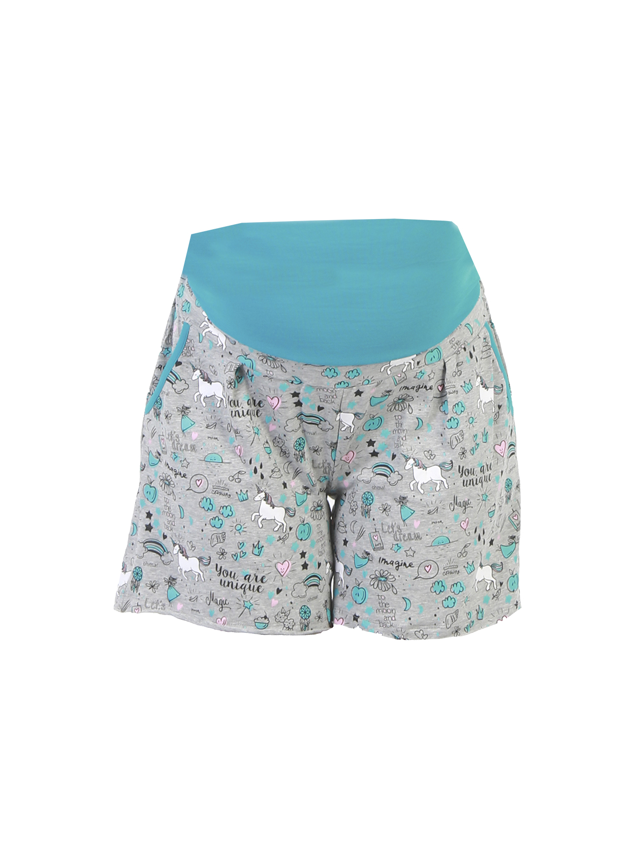 Short pijama estampado
