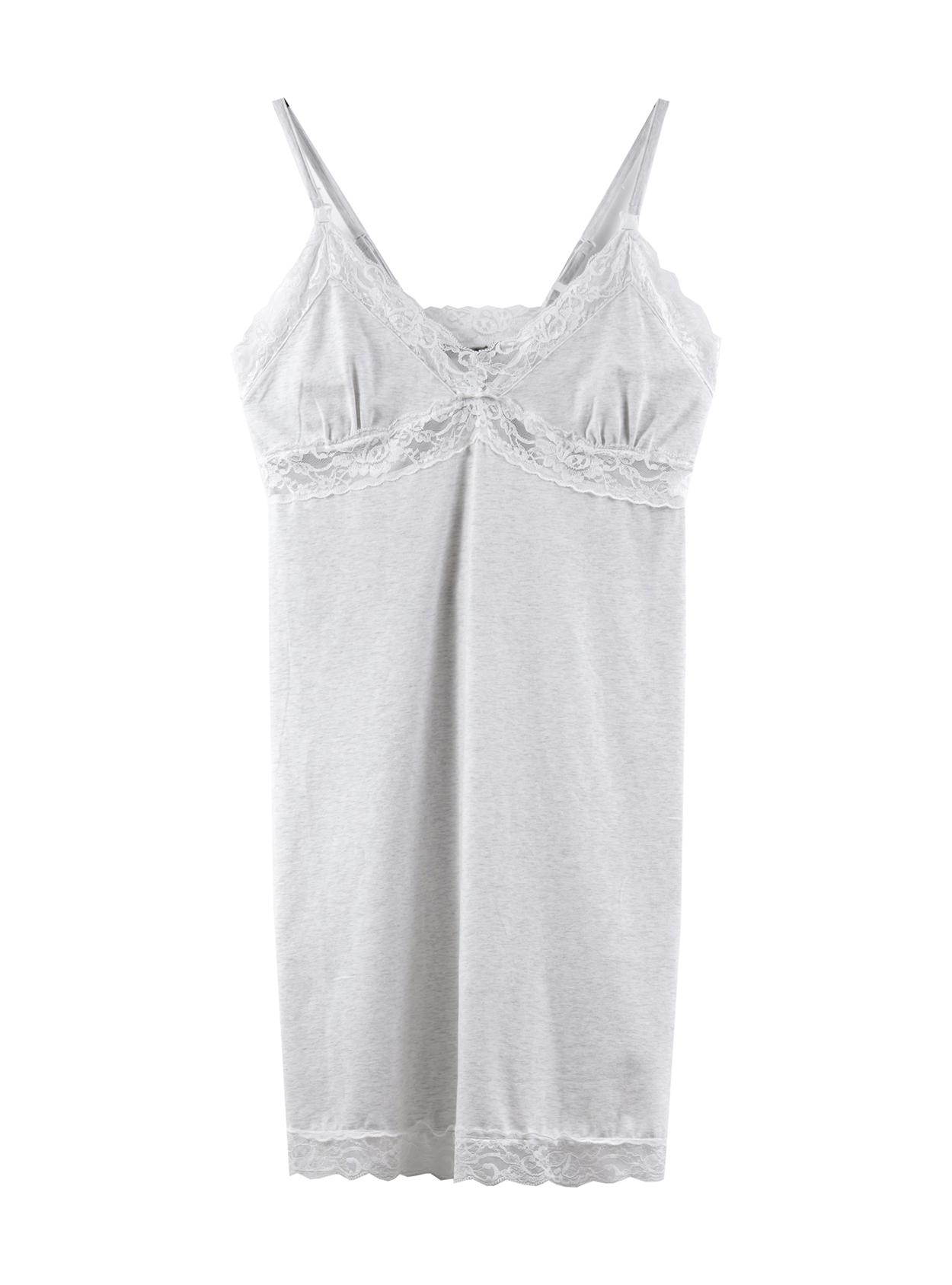 Camisa de dormir lencero blanco