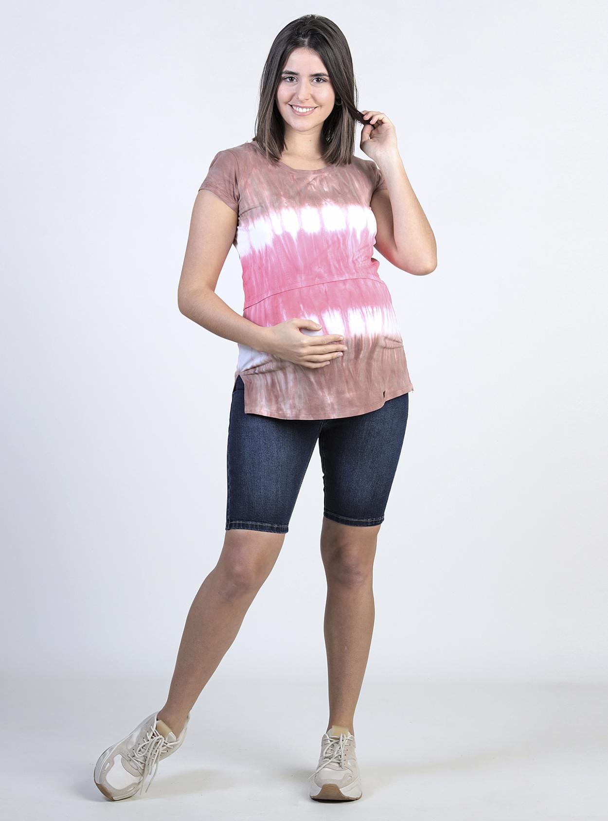 Short jeans bermuda maternal