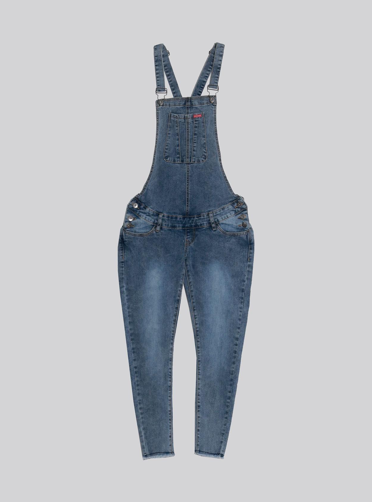 Jardinera jeans claro