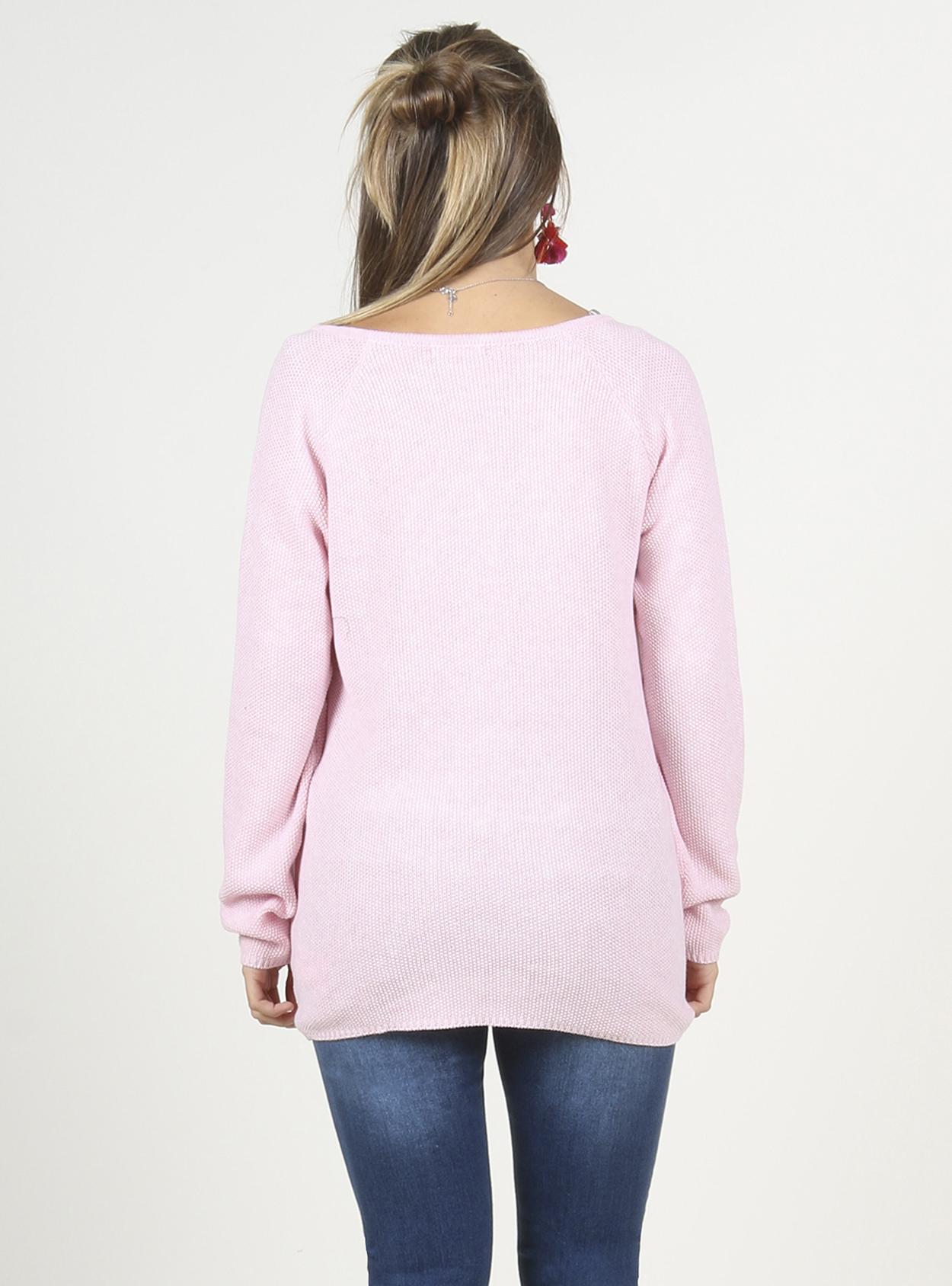 Chaleco rosado lactancia