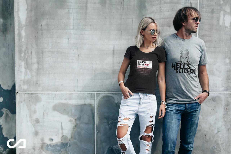 Curvilineo: Camisetas para no crecer nunca