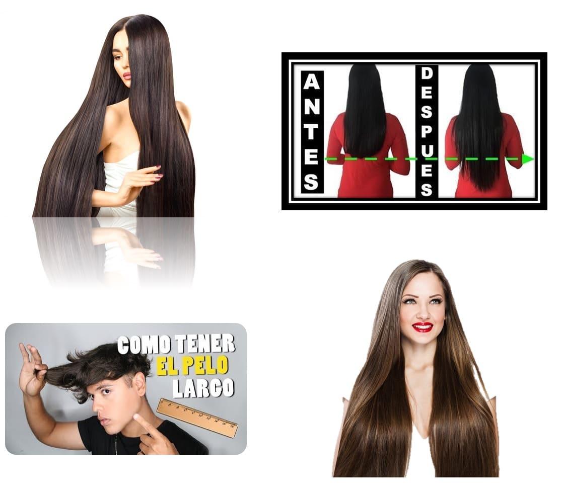Shampoo crecimiento rápido acelerado vitaminas fortalece cabello