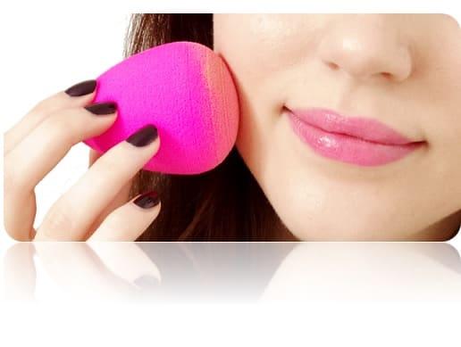 Esponja blender maquillaje beauty Chile real original forma gota