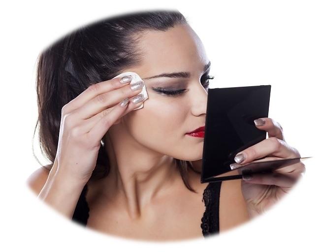 Toallitas limpieza facial rostro + desmaquillante labios y ojos cejas pack 20