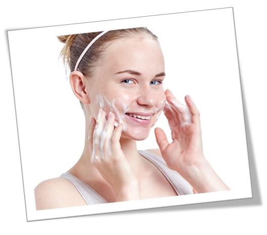 Jabón masajeador facial limpiador rostro glicerina en barra humectante