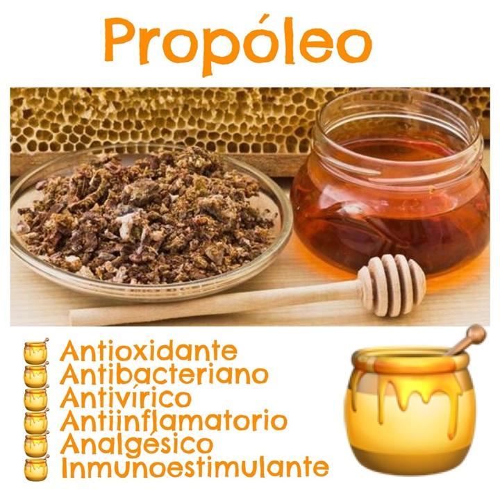 Jarabe propóleo miel abejas natural más vitamina C niños y adultos